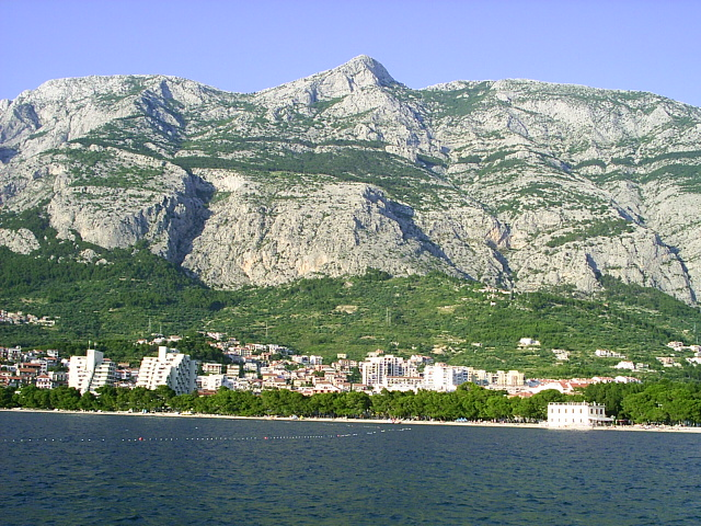 Makarska - mountain Biokovo