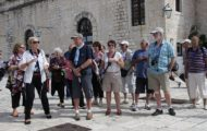 Walking tour of town Hvar