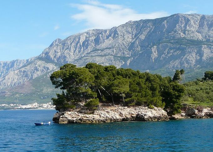 Central Dalmatia  from Makarska riviera