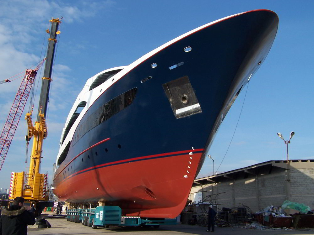 Launching of M/Y Dioclea