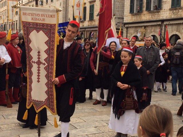 Saint Blaise protector of Dubrovnik